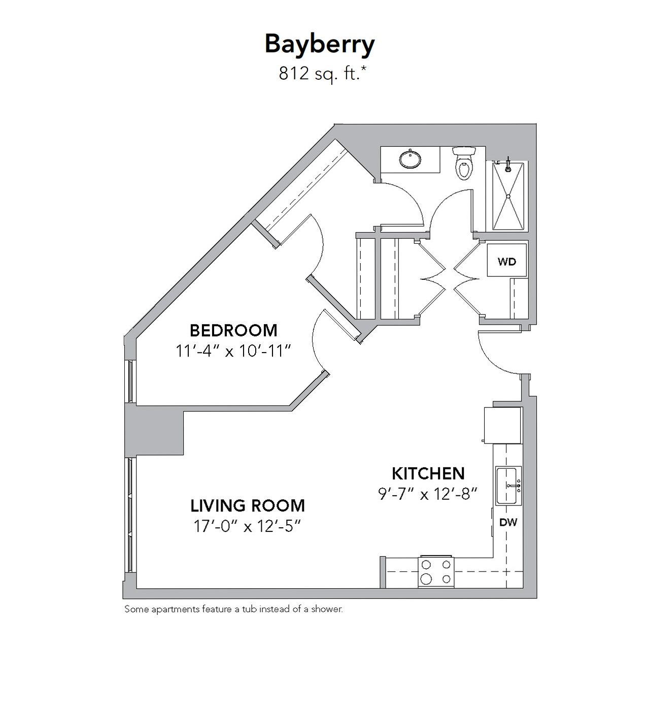 Tamarisk NorthShore—Bayberry, 1 Bedroom Appartment Home